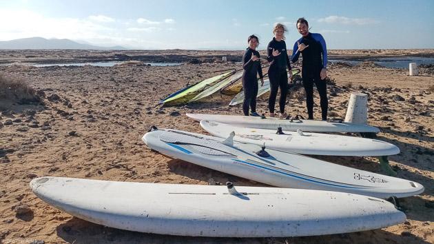 Débutant ou expert, progressez en windsurf à Fuerteventura