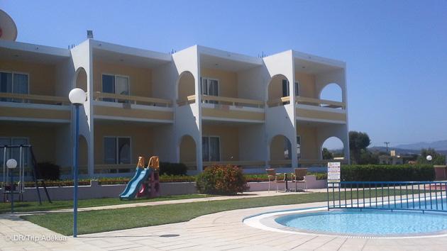 votre hotel pour ce stage de planche à Rhodes