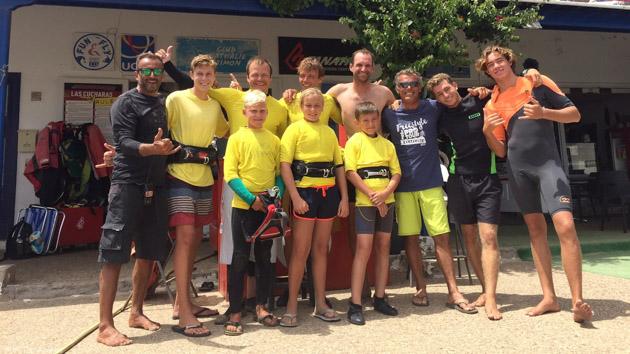 Profitez d'un stage de windsurf en famille à Lanzarote pour progresser