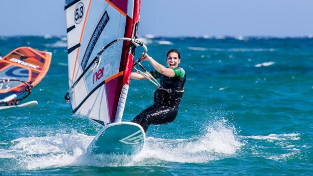 Les meilleurs conditions pour progresser en windsurf aux Canaries