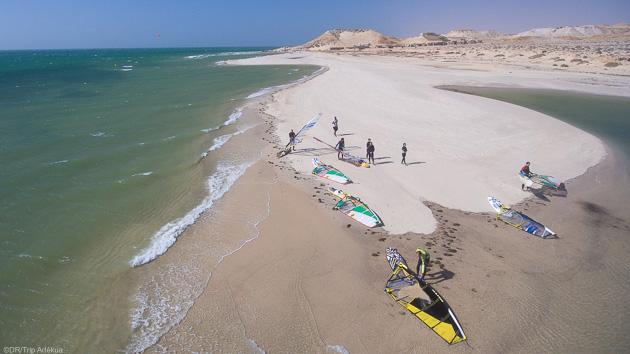 Venez naviguez sur les meilleurs spots de Dakhla au Maroc
