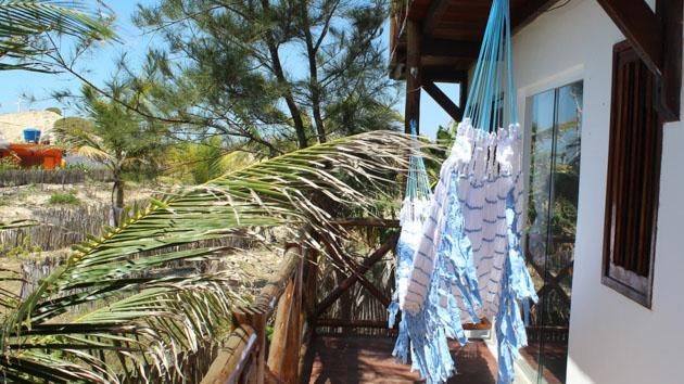 Votre hébergement tout confort en pousada sur le spot au Brésil