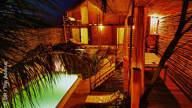 Votre logement dans notre guest house, idéal pour le repos et la relaxation entre vos sessions windsurf dans la région de Mancora