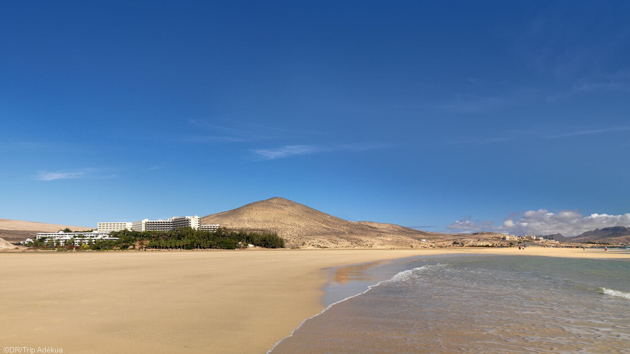 Des vacances windsurf sur la lagune de Sotavento aux Canaries