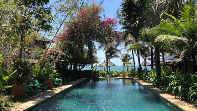 Profitez de votre hôtel tout confort pour votre séjour windsurf au Vietnam