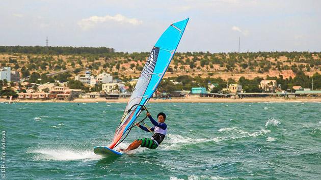 Un séjour windsurf de rêve avec hôtel tout confort au Vietnam