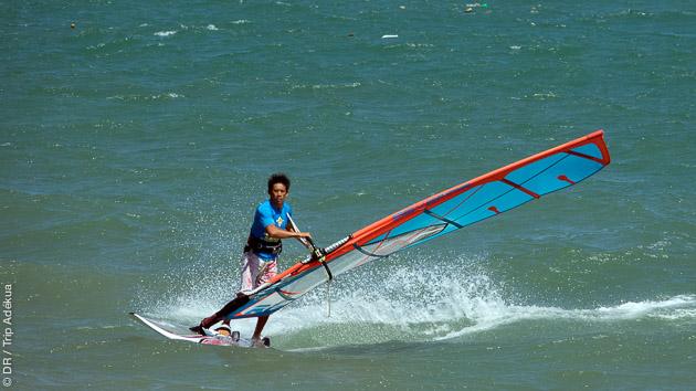 Votre séjour windsurf face au spot au Vietnam