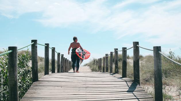 l'accès à votre spot de windsurf au Portugal